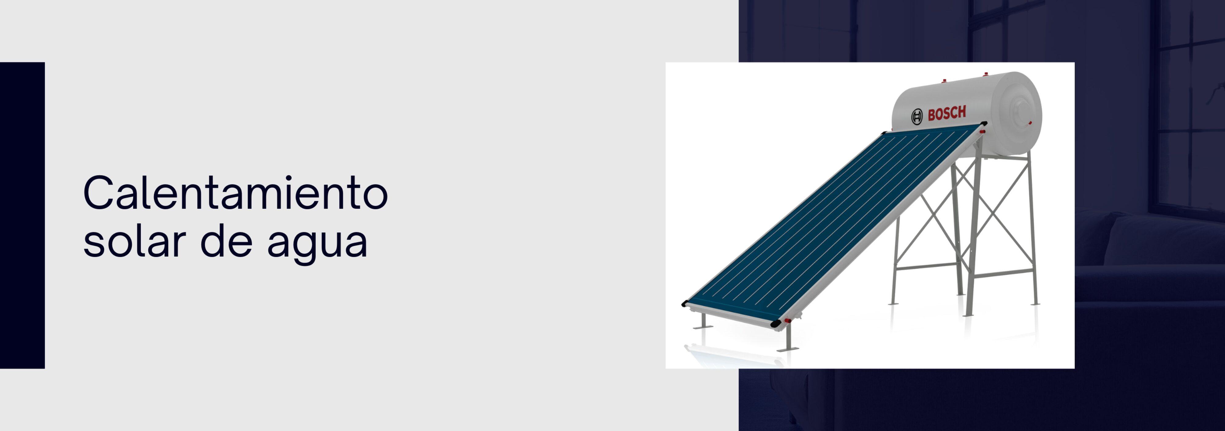 Slider Calentamiento solar de agua