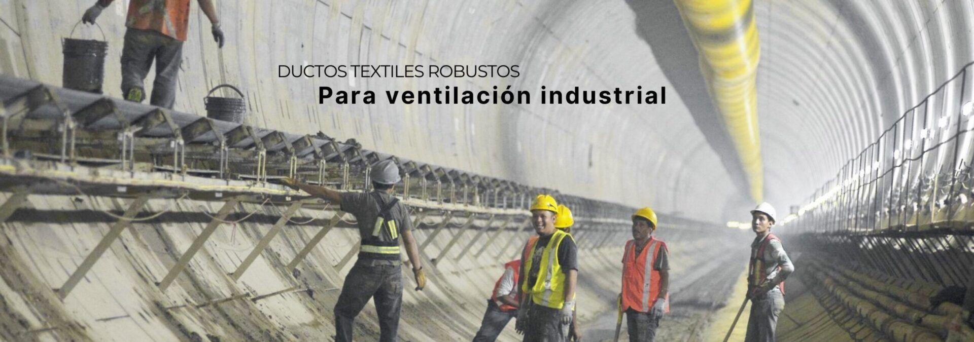 Ductos Textiles robustos