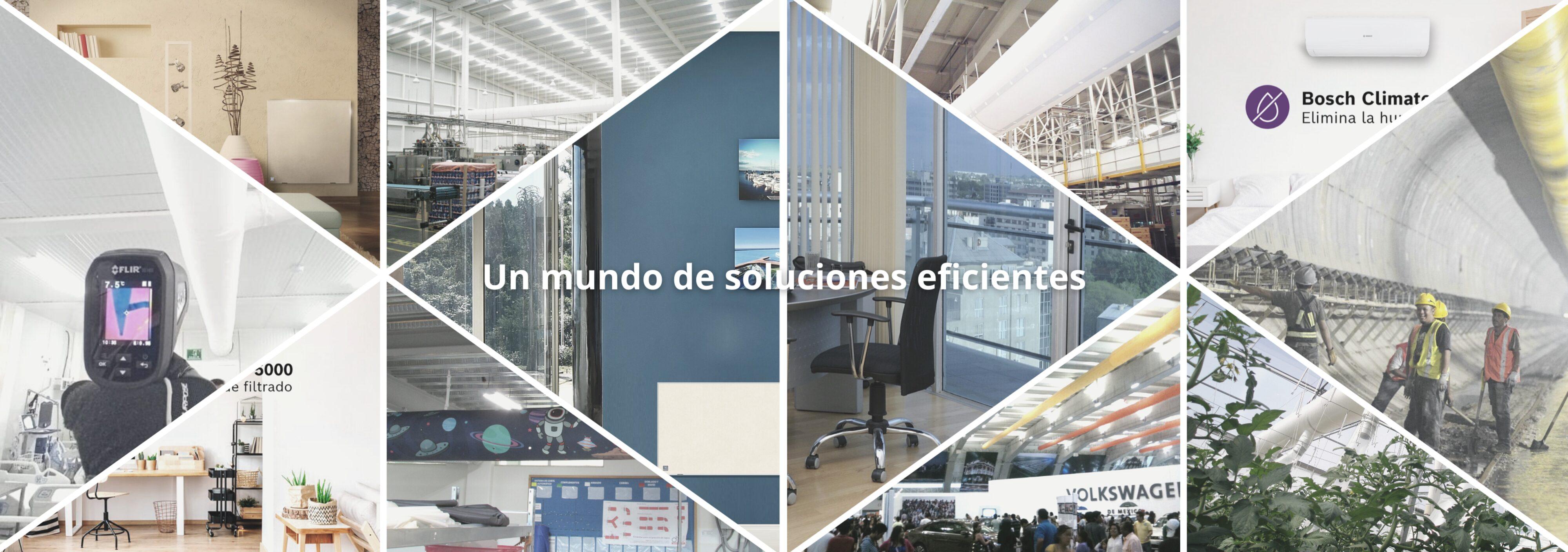 Slider Un mundo de soluciones eficientes